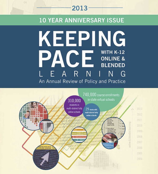 Keeping Pace Report 2013