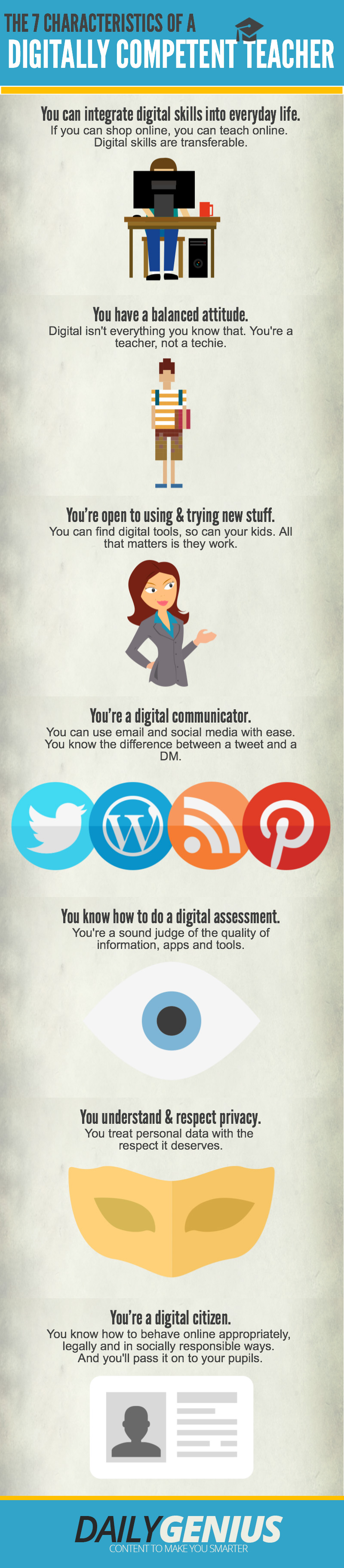 The Characteristics of a Digitally Competent Teacher-