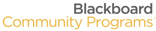 Blackboard Community Programs