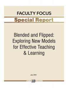 Blended and Flipped Special Report