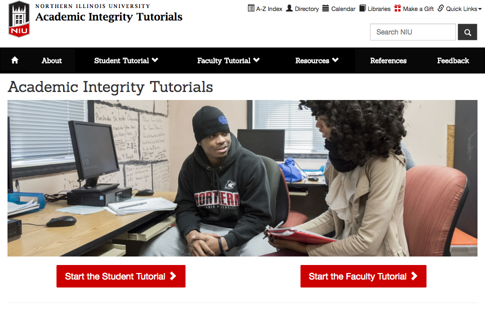 Academic Integrity Tutorials